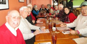 Each month members can get together for a lunch at the Fish Whistle in Chestertown