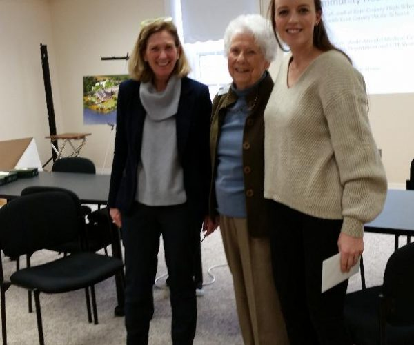 Karen Wright, Jane Hukill, Greer Davis