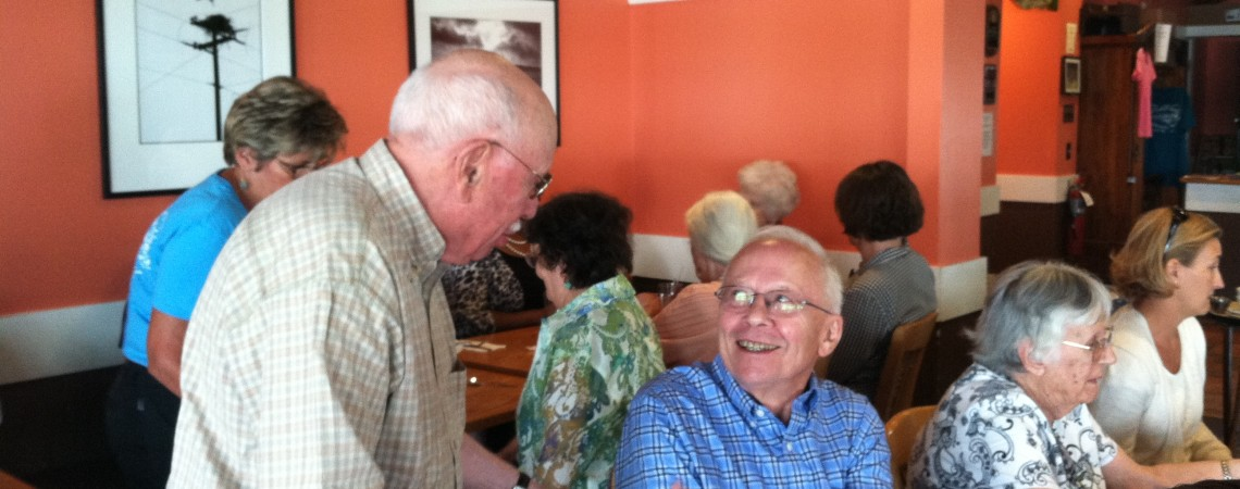 Jim Donaghy and Friends at Monthly Luncheon
